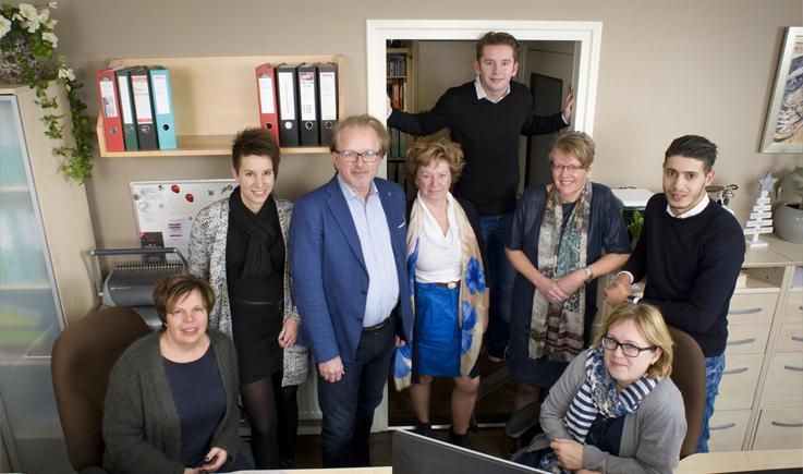 Teamfoto Administratiekantoor Saldo uit Deurne